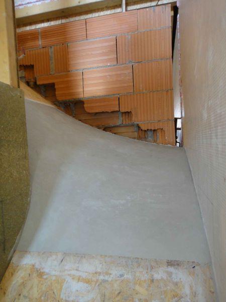 H int rieur escalier at construction d une maison for Fabrication escalier beton interieur